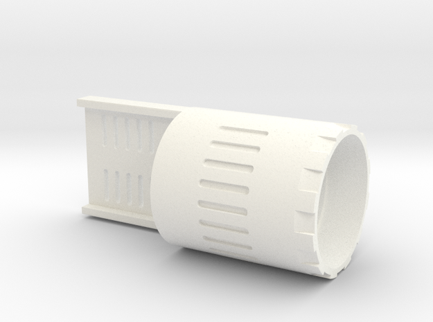 89 Qui-Gon Speaker Holder in White Processed Versatile Plastic