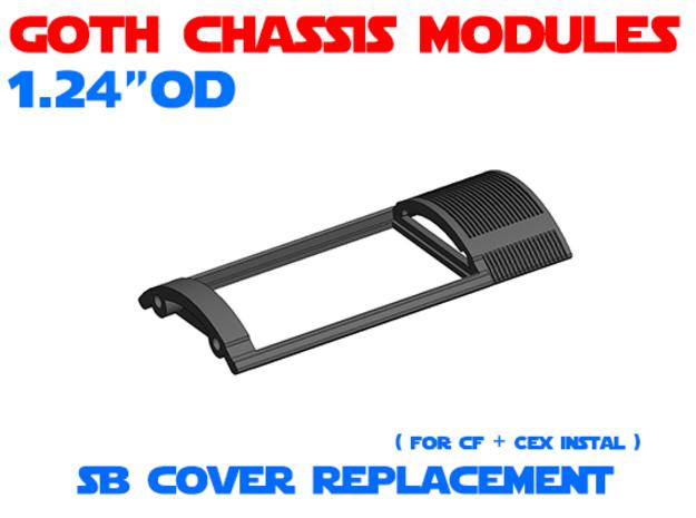 GCM124 - Soundboard Cover for CEx in White Natural Versatile Plastic