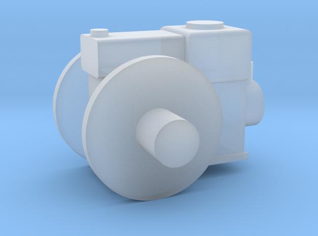 Stationärmotor mit Transmissionsabtrieb TT 1:120 in Smooth Fine Detail Plastic