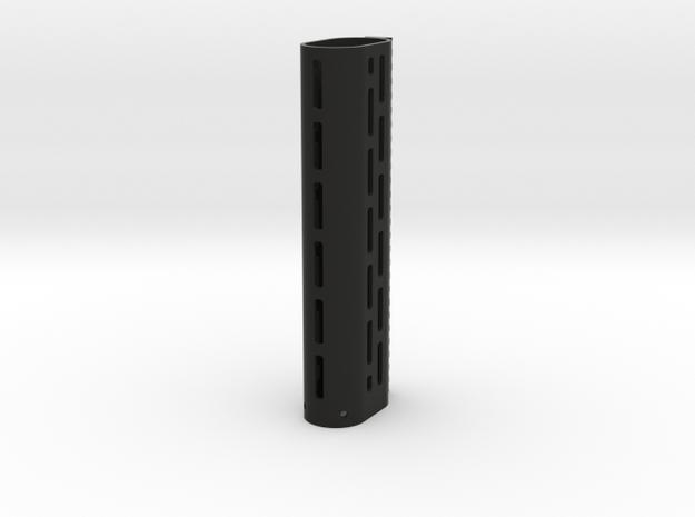 CA Stoner 96 LMG M-Lok foregrip (Extra Extended) in Black Natural Versatile Plastic