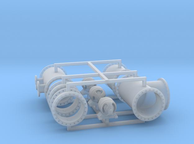 Schrottfuhre Set2 1:120 T in Smooth Fine Detail Plastic