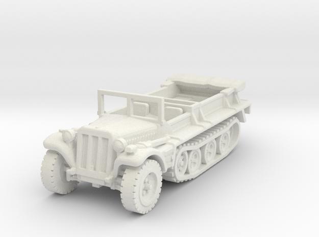 sdkfz 10 scale 1/100 in White Natural Versatile Plastic