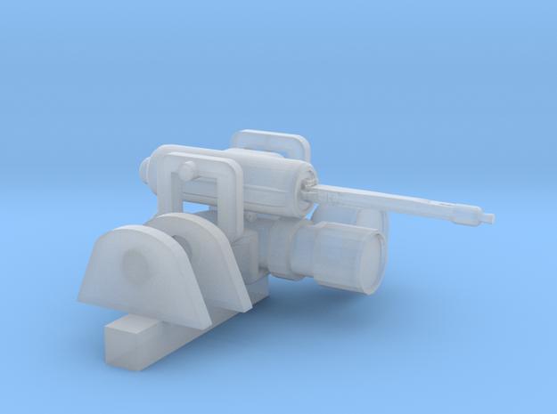 Dust Panzerkampflauer II Machine Gun in Smooth Fine Detail Plastic
