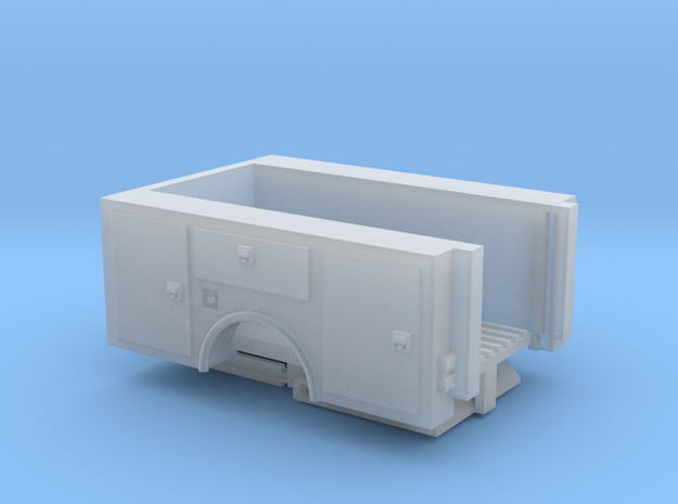 Pick Up Truck Bed With Lift Gate 1-87 HO Scale