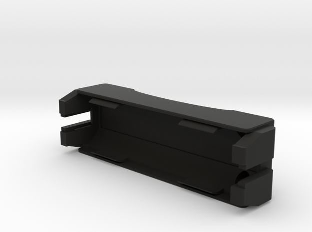 DNA75C Silo battery cradle 18650 in Black Natural Versatile Plastic