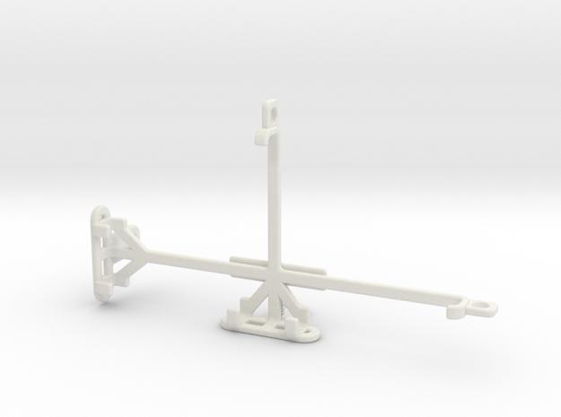 Xiaomi Redmi Note 4 (MediaTek) tripod mount in White Natural Versatile Plastic