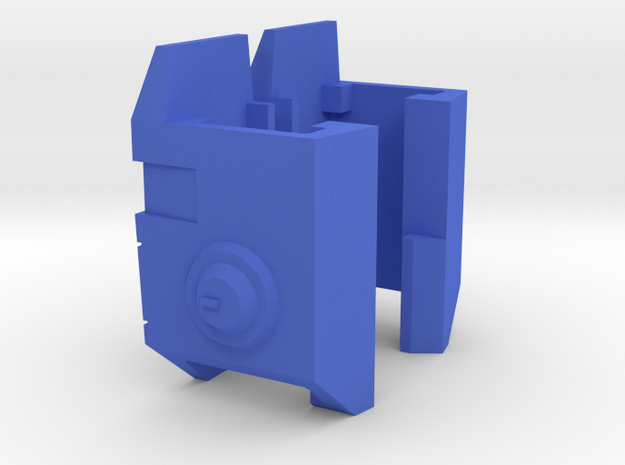 TR: Blitz Shoulder add-on in Blue Processed Versatile Plastic