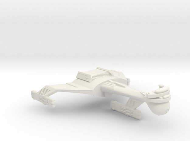 3788 Scale Klingon C5 Light Dreadnought WEM in White Natural Versatile Plastic
