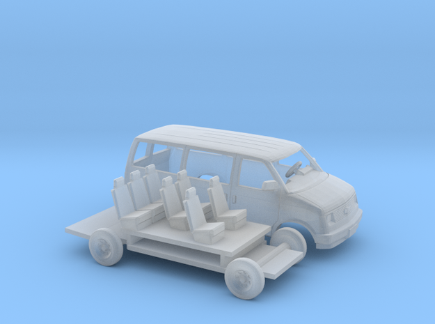 1/144 1985 Chevrolet Astro Van Extended Kit in Smooth Fine Detail Plastic