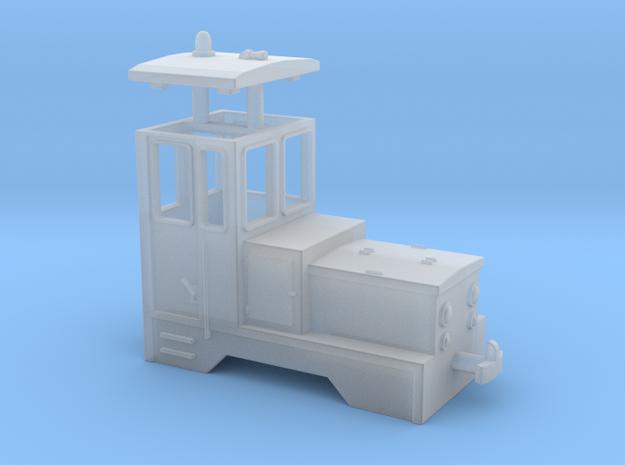 LA1 H0e / 009 Battery-powered loco in Smooth Fine Detail Plastic