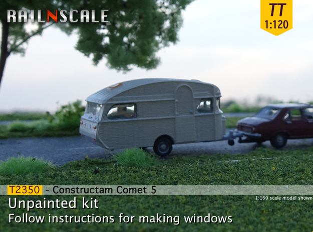 Constructam Comet 5 (TT 1:120) in Smooth Fine Detail Plastic