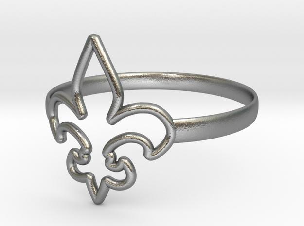 Fleur de Lille (Fleur-de-lis) Ring (variant 1)