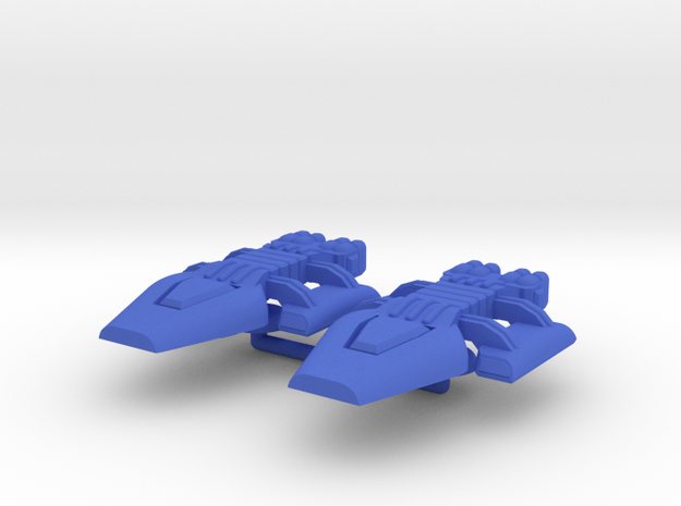 Lambda Generic Carrier Group in Blue Processed Versatile Plastic