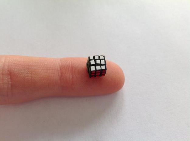 Subatomic Cube - Former World's Smallest Rubik's C 3d printed