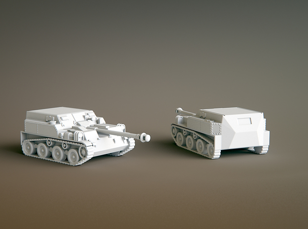 Asu 57 scale: 1:200 in Smooth Fine Detail Plastic