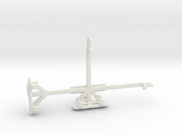 Alcatel Fire S tripod & stabilizer mount in White Natural Versatile Plastic