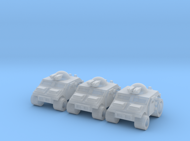 High Mobility Vehicle in Smooth Fine Detail Plastic