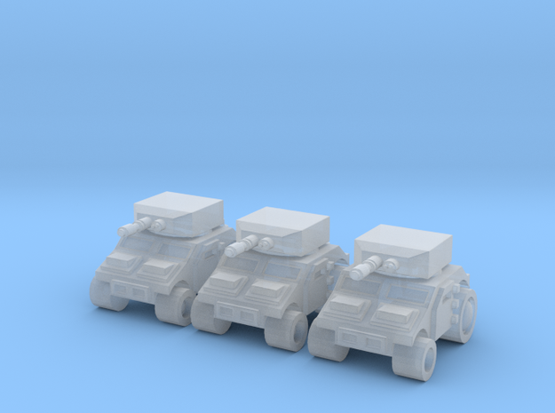 High Mobility Tank in Smooth Fine Detail Plastic