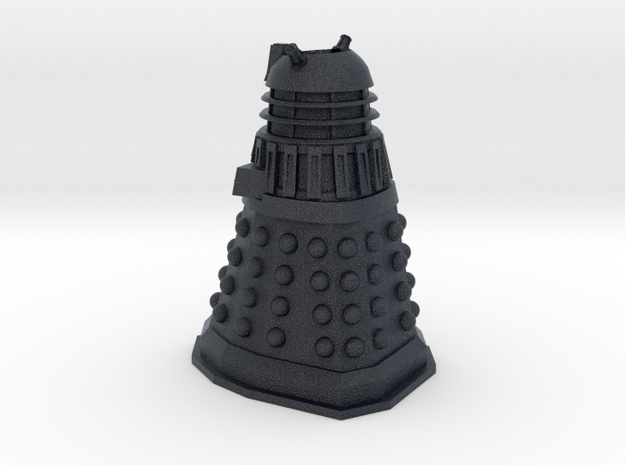 Dr Who Dalek Charm in Black PA12