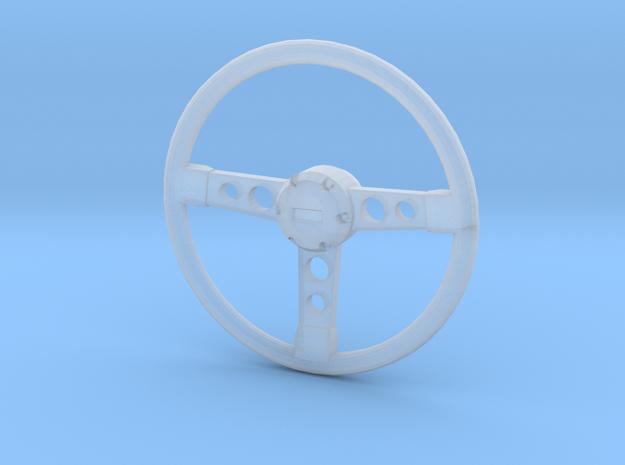 1/25 GTS Steering Wheel in Smooth Fine Detail Plastic