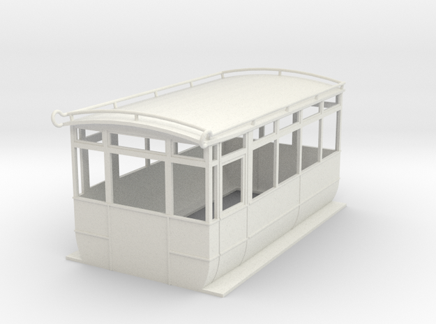 0-43-ford-wsr-railcar-1a in White Natural Versatile Plastic