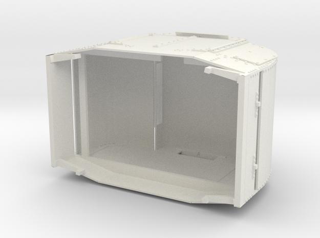 a-7-8-armoured-simplex1 in White Natural Versatile Plastic