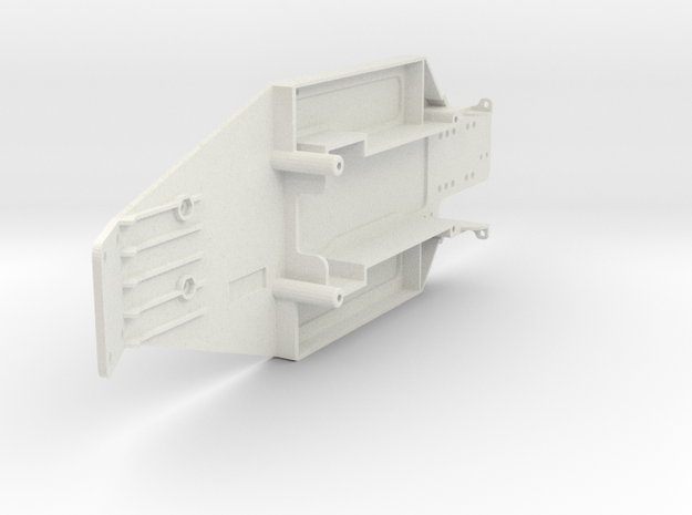 losi LXT chassis  in White Natural Versatile Plastic