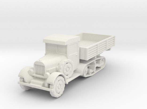 Wz 34 truck 1:100 in White Natural Versatile Plastic