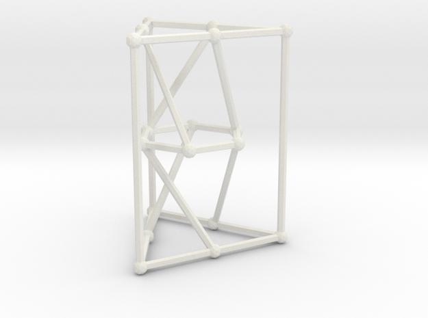 Pappus graph in White Natural Versatile Plastic