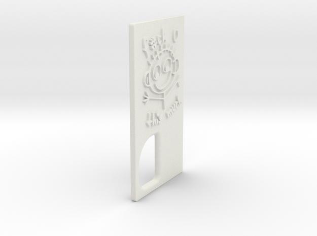 TLF# - Stick Man Door in White Natural Versatile Plastic