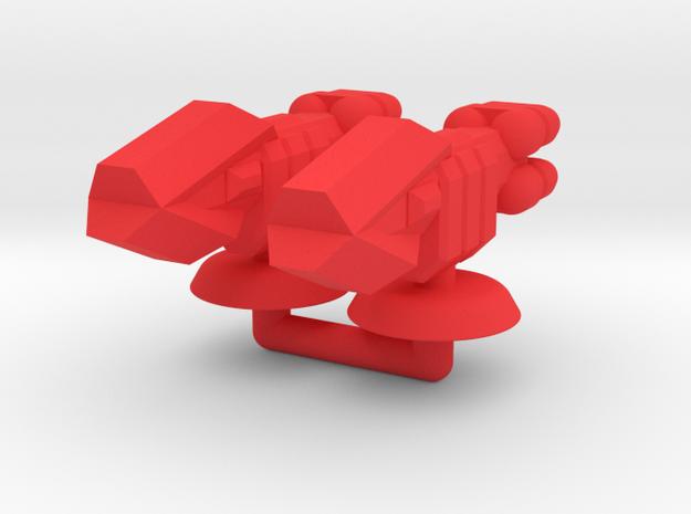 Zeta Generic Large Transport Group in Red Processed Versatile Plastic