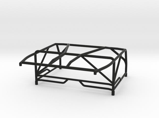 JK Roll Cage V3 in Black Natural Versatile Plastic