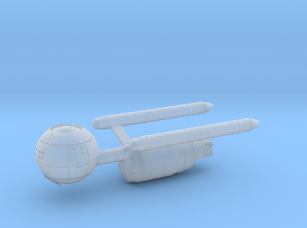 Confederation Daedalus Class Starship in Smooth Fine Detail Plastic