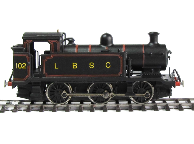 LB&SCR E2 - N-1:148 in Smooth Fine Detail Plastic
