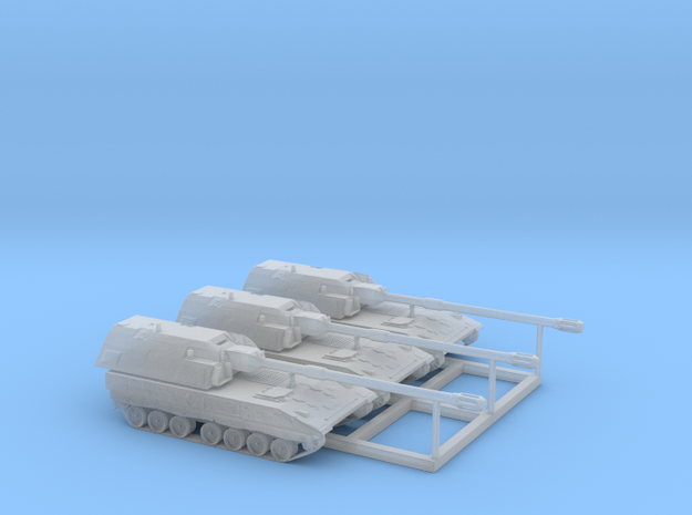 1:160 n scale Howitzer Bundeswehr 3x PZH 2000