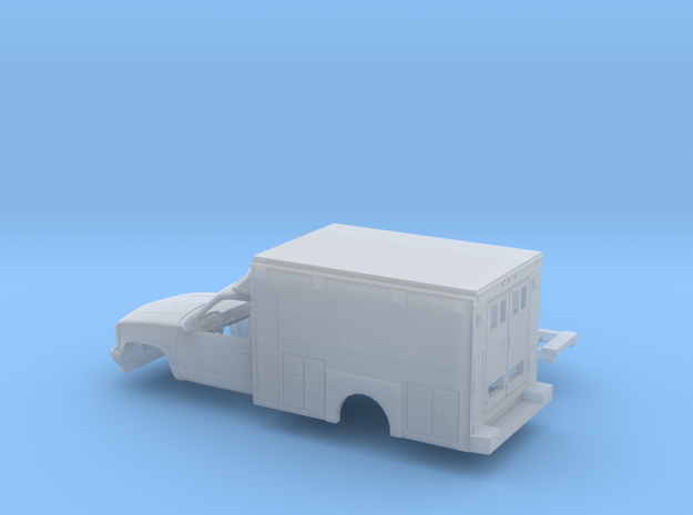 1/160 1990-98 Chevy Cheyenne RegCab Swedish Style  in Smooth Fine Detail Plastic