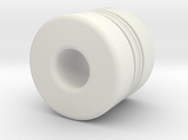 Z-n24040X in White Natural Versatile Plastic