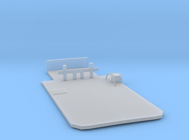 Main Deck Inlay 1/160 V56 for Harbor Tug in Smooth Fine Detail Plastic