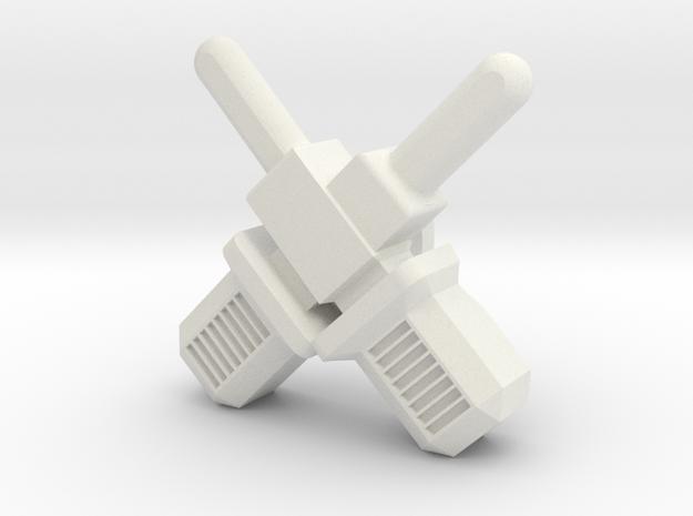 militarylock (1 pc) in White Natural Versatile Plastic