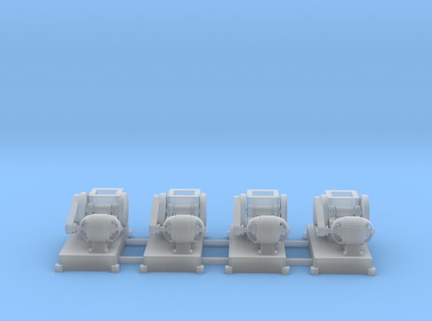 Steinbrecher mit E-Motor-Antrieb (V6) 4erSet TT 1: in Smooth Fine Detail Plastic