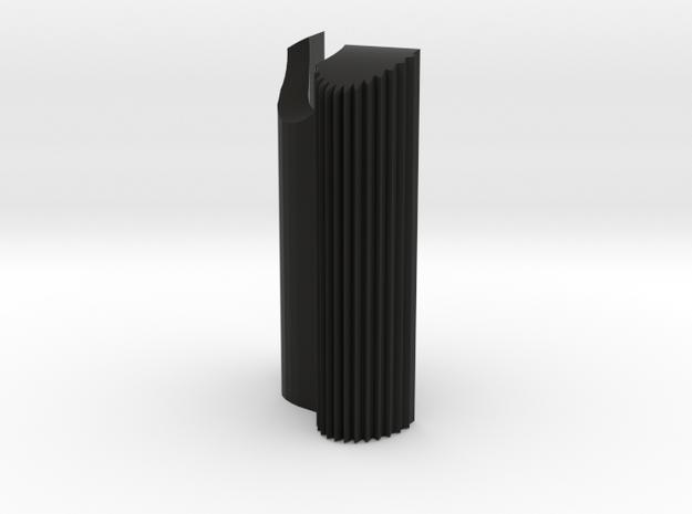 Olympus OM Grip 1 with Vertical Ridges in Black Natural Versatile Plastic