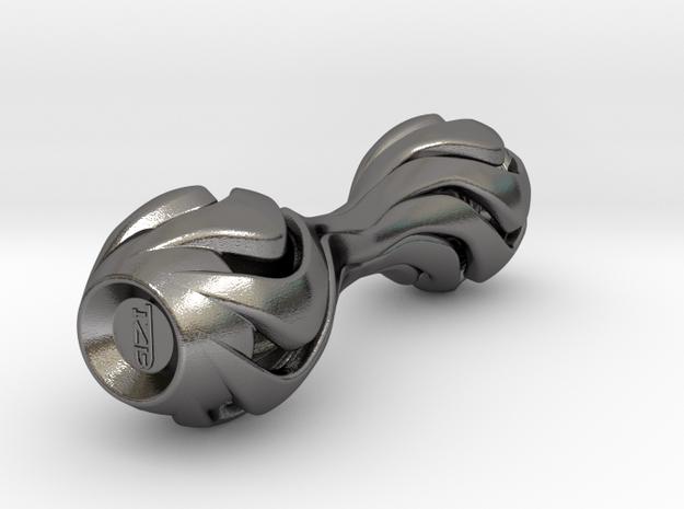 tzb lepton scepter knuckle roller in Polished Nickel Steel