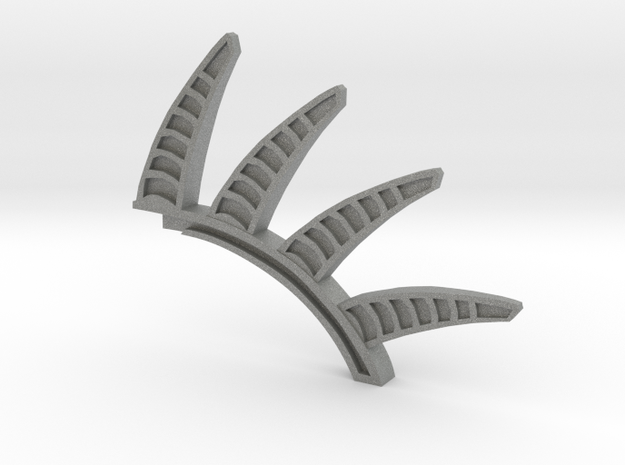 Density Control spine in Gray Professional Plastic