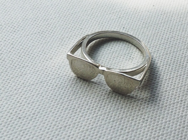 Endless Summer Ring 3d printed