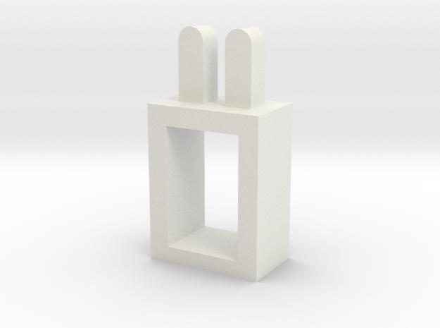 lampshade in White Natural Versatile Plastic