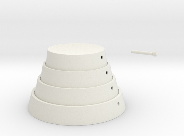 lampshade in White Natural Versatile Plastic