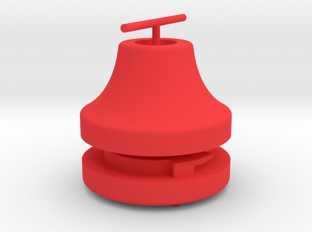 VSKF AirSoft SafePlug V2_assembly in Red Processed Versatile Plastic