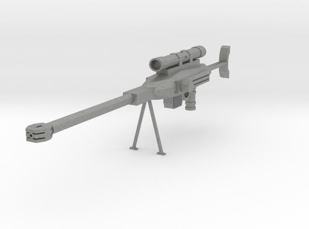 Sniper rifle in Gray PA12