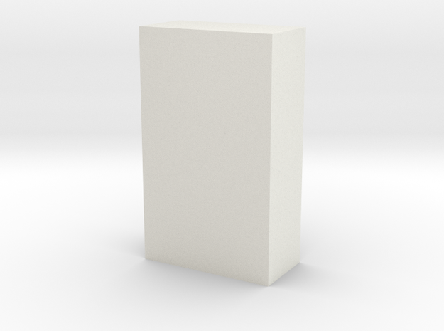 Motorway 1 Pillar 1:1000 scale in White Natural Versatile Plastic