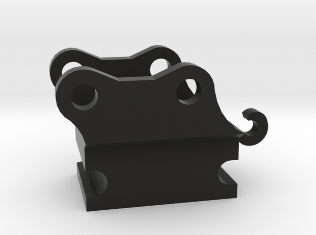 snelwissel 6mm miniatuur 1:50  in Black Natural Versatile Plastic